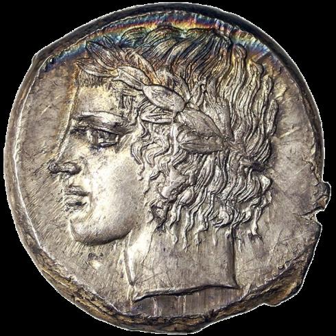 Tetradrachme 425-422 BC. 17.31 g